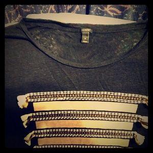 J Crew Fancy T Shirt / Size M